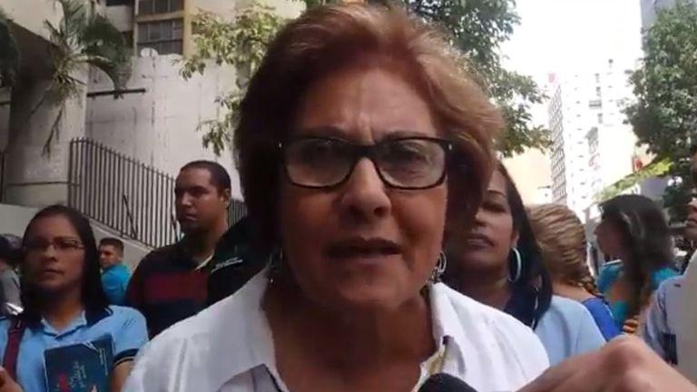 Helen Fernández, alcaldesa de Caracas