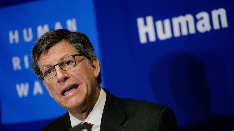 Vivanco expresó la crítica de Human Rights Watch por el mensaje de Cristina