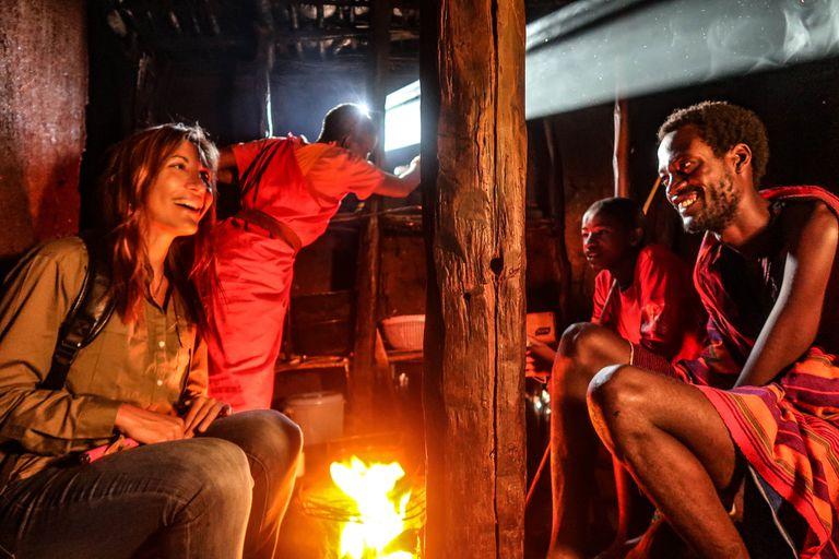 Aixa Romero cuenta sus vivencias en una tribu africana