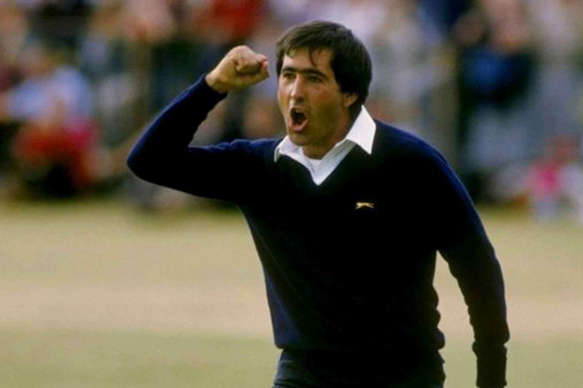 El festejo inolvidable luego de un birdie decisivo en el Open Británico de 1984