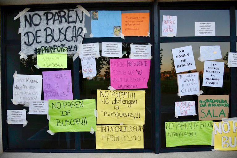 Los vecinos de Progreso piden que no pare la búsqueda de Emiliano