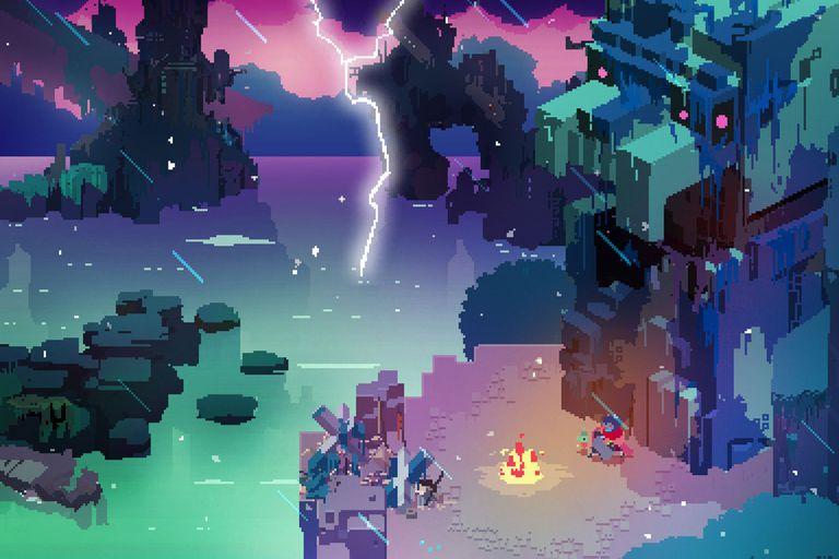 Hyper Light Drifter, una aventura gráfica para iPad que fue destacada como uno de los mejores videojuegos para la tableta de Apple