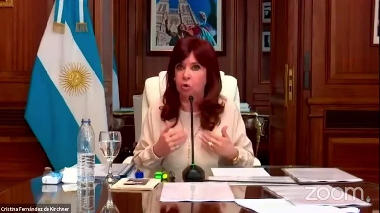 Cristina Kirchner hizo una aguerrida crítica a la Justicia