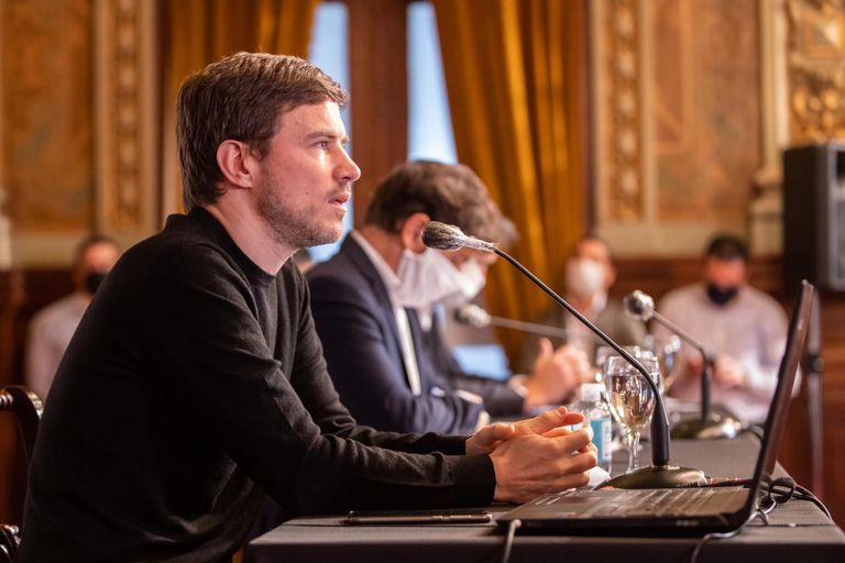 La defensa del gobierno de Axel Kicillof a la estatización de la Hidrovía