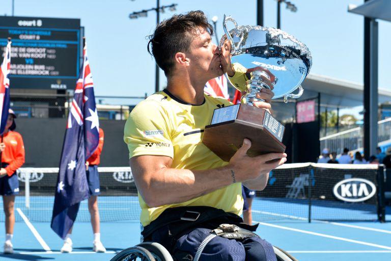 Gustavo Fernández se consagró campeón del Abierto de Australia