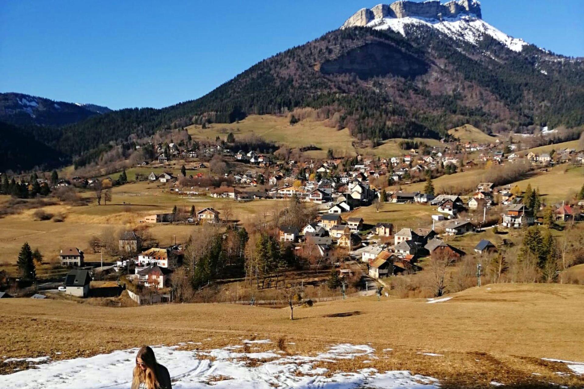 Le Sappey en Chartreuse, un pueblo en una de las montañas que rodea Grenoble. A 15 minutos de la ciudad.
