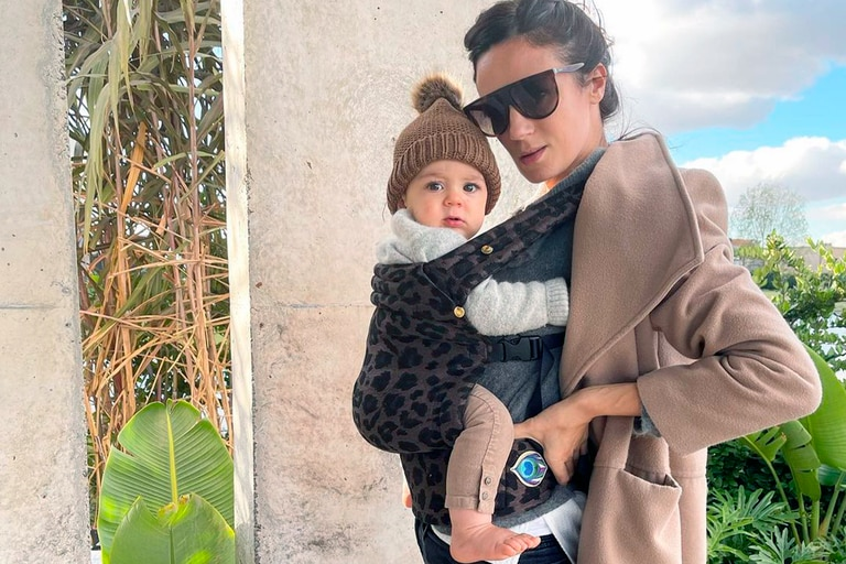 """Paula Chaves mostró el curioso """"corralito"""" donde juega su hija Filipa"""