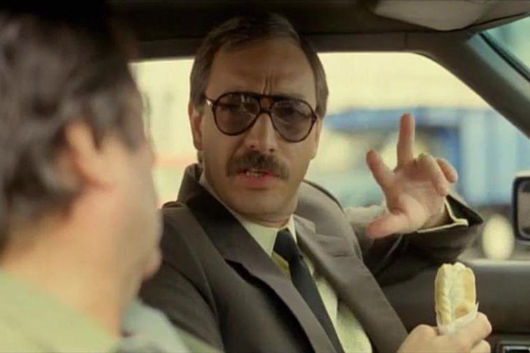 """""""Tres empanadas para dos personas"""", una frase que suena aún hoy, a 35 años del estreno de la película"""