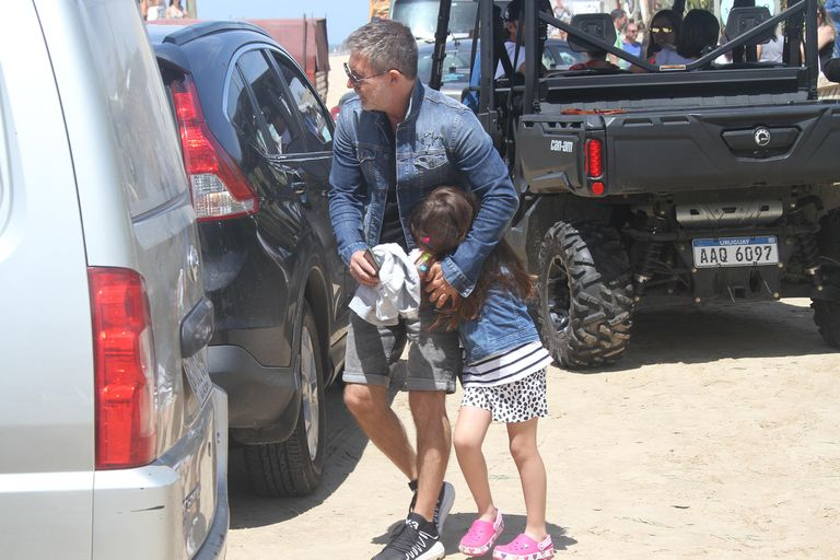 A Margarita, la hija de Adrián Suar, no le gusta ser fotografiada