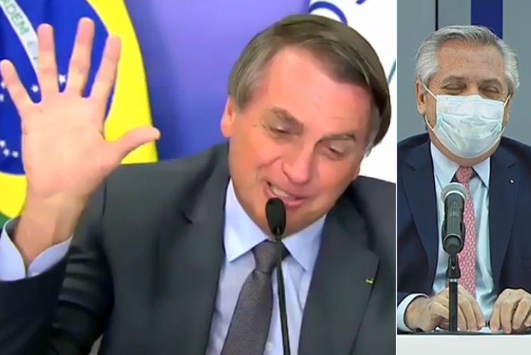 Fue en el cierre de la cumbre del Mercosur, en la que abundaron las alusiones futbolísticas entre los mandatarios; el jefe de Estado brasileño asumió la presidencia pro tempore del bloque