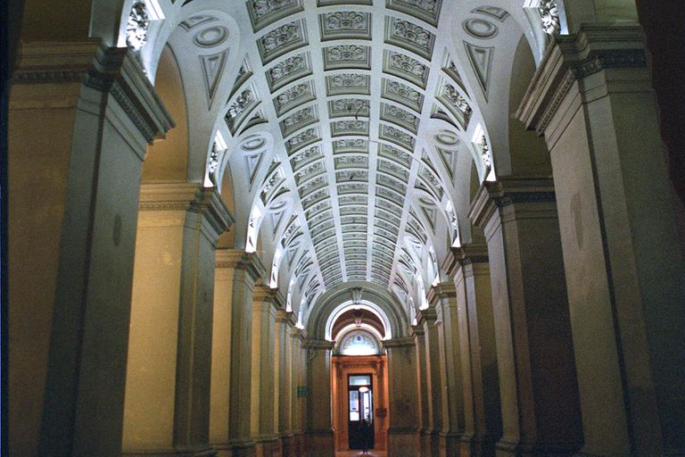 El Palacio de Tribunales es la sede del fuero penal ordinario, que Alberto Fernández proyecta unificar con el fuero federal, de Comodoro Py