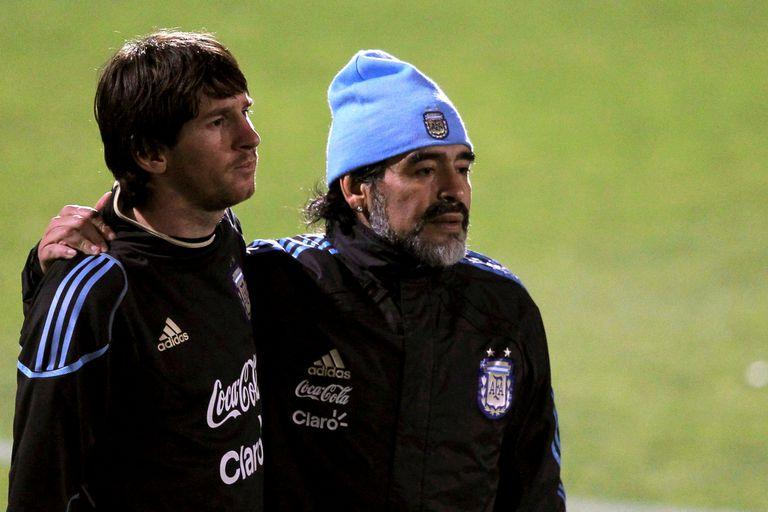 Messi, Maradona... ¿y el paso del testimonio y la magia en los tiros libres?