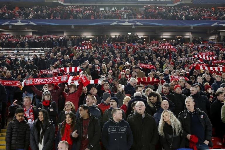 La hinchada de Liverpool, víctima de la tragedia de Hillsboroug