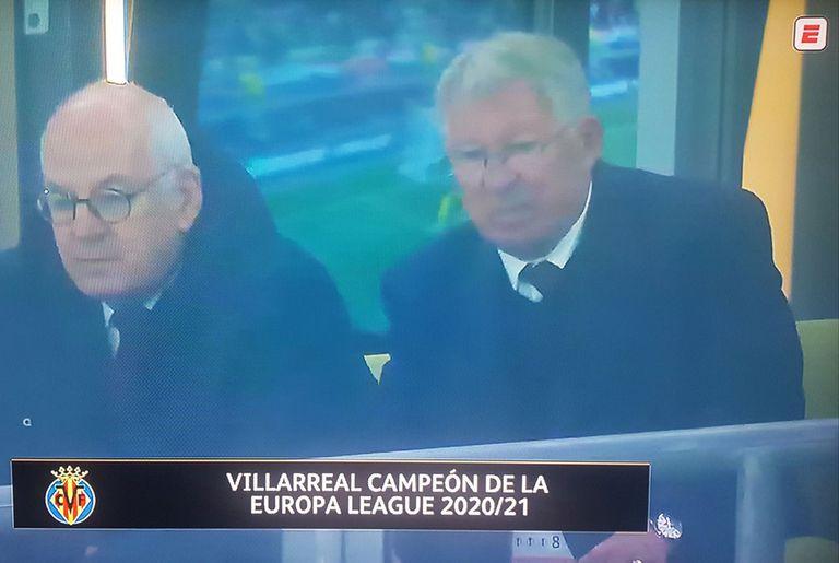 """Villarreal campeón: el error en vivo de la transmisión que lo """"predijo"""""""