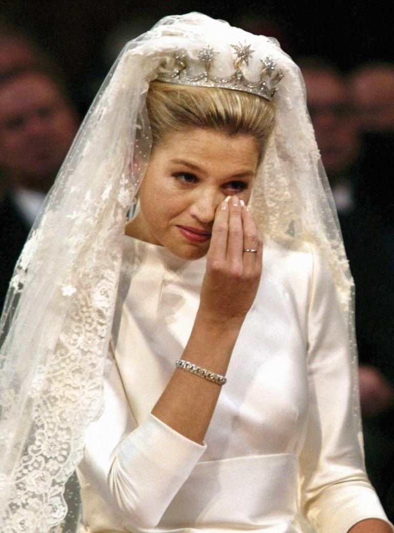 """Durante la ceremonia de su casamiento, celebrado el 2/2/2002, Máxima lloró al escuchar los acordes de """"Adiós, Nonino"""", el tema de Piazzolla que era el preferido de su padre, Jorge Zorreguieta, a quien se le prohibió asistir por haber trabajado para el gobierno de facto de Jorge Rafael Vide"""