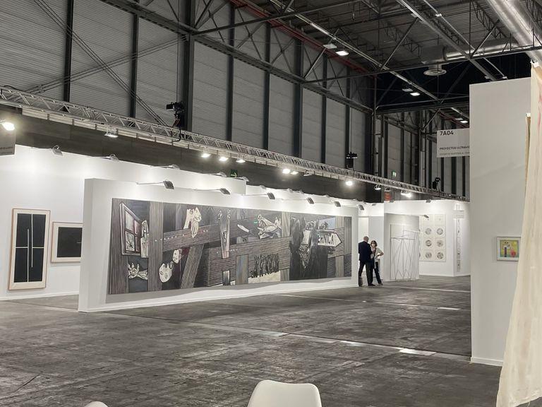 """El """"Guernica"""" de Agustín Ibarrola es una de las piezas más elogiadas de esta edición"""