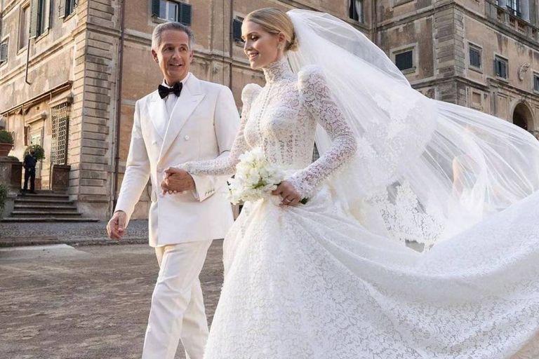 La sobrina de Lady Di se casó con un multimillonario 32 años mayor