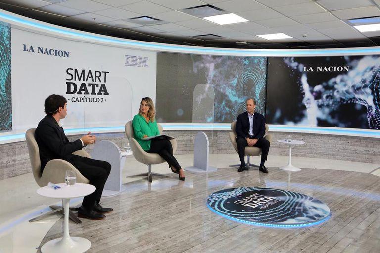 """Juan Manuel Baruffaldi, CEO de Deepagro y Ignacio Conti, director Comercial para Argentina y Uruguay de Corteva Agroscience en el segundo capítulo de Smart Data, """"Nueva era: El poder predictivo de los datos para desarrollar nuevos negocios""""."""