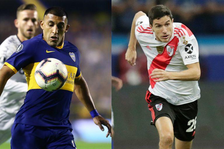Boca jugará los cuartos de final ante Liga de Quito y River se medirá con Cerro Porteño