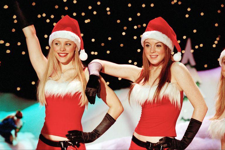 Rachel McAdams y Linday Lohan en Chicas pesadas