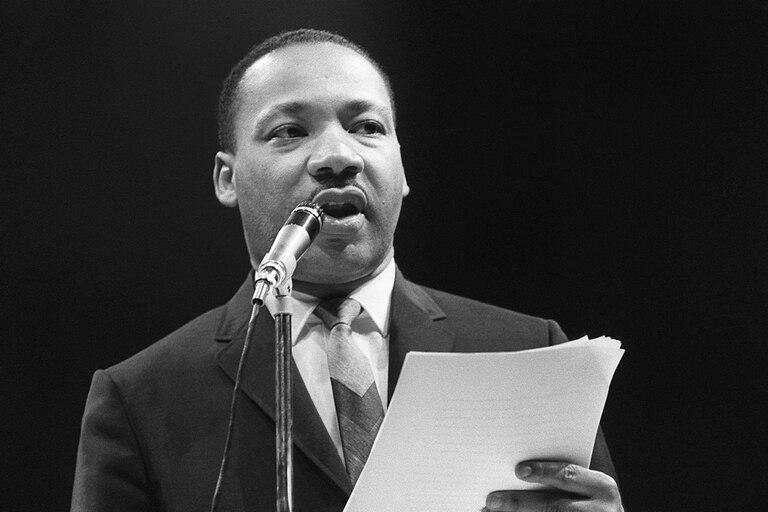 """Martin Luther King Jr. mencionó la frase """"ciudadanos de color"""" en su famoso discurso """"I have a dream"""" en Washington en 1963"""