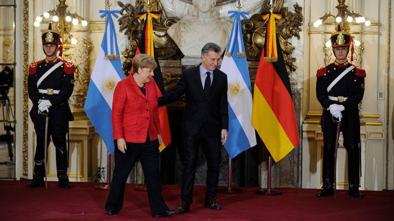 Con su reunión en la Argentina, Macri y Merkel consolidan la relación bilateral