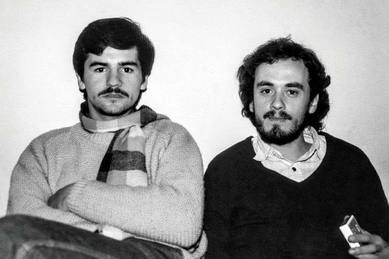 Alejandro Sokol y Germán Daffunchio, en 1982, pilares de una escena rockera tan particular que derivaría en bandas como Sumo, Divididos y Las Pelotas, pero que daría también otra cantidad de grupos menos reconocidos