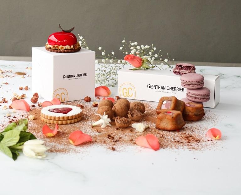 Las preparaciones dulces de Gontran Cherrier para San Valentín son de edición limitada.