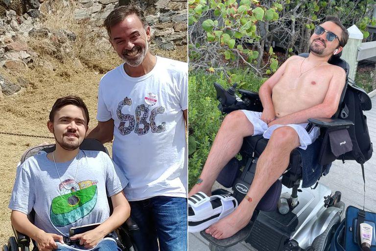 Luis Bermúdez tenía 26 años y utilizaba una silla de ruedas por una distrofia muscular