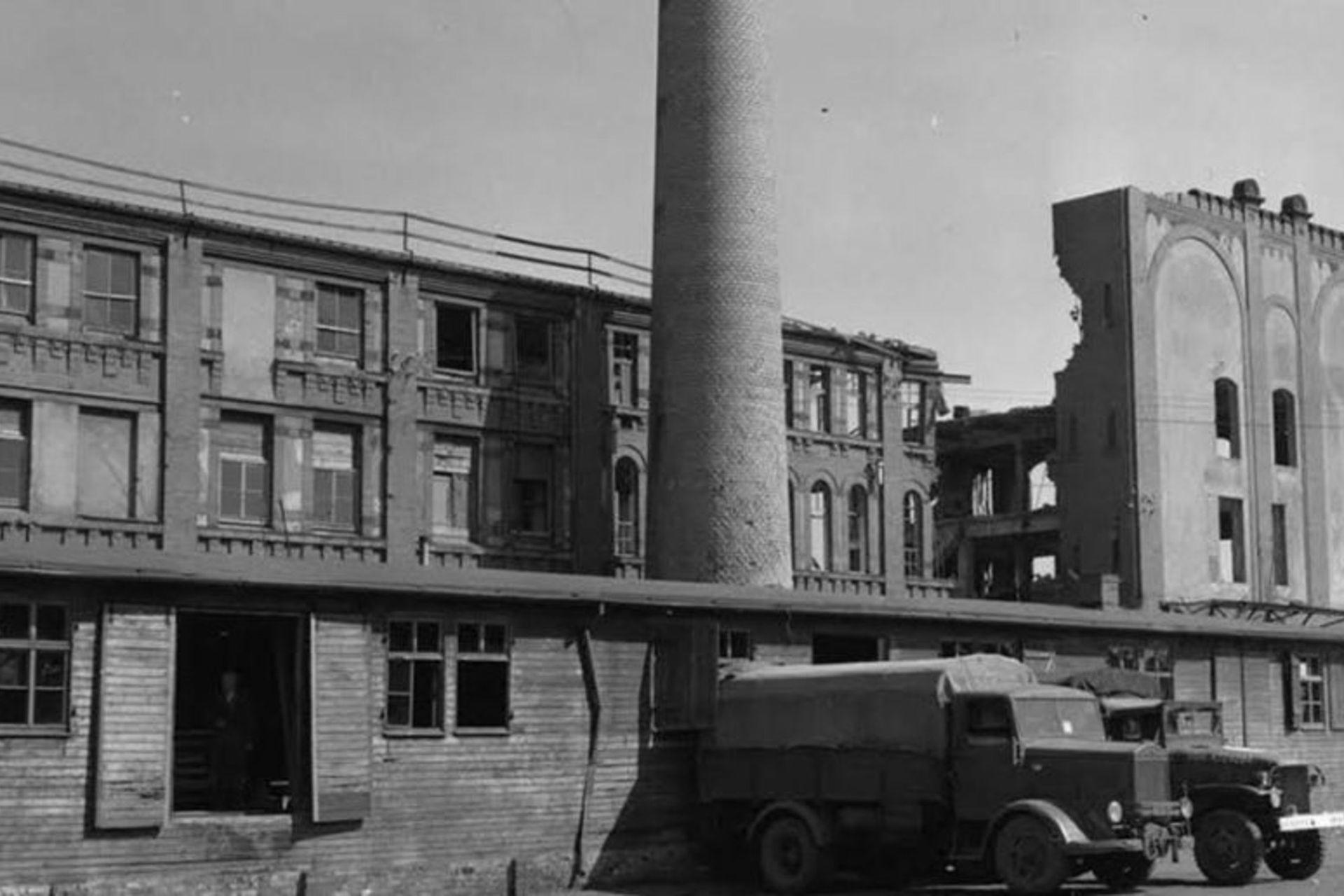 La panadería en Núremberg que suministraba pan al centro Stalag 13