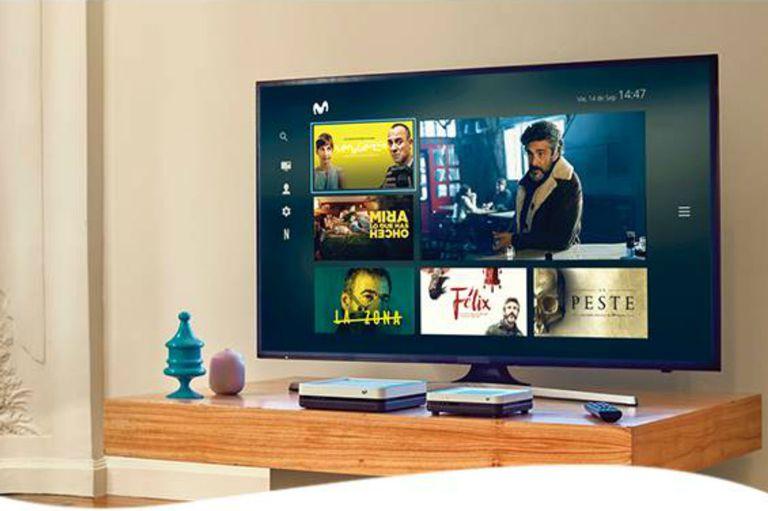 Telefónica lanza Movistar TV para clientes de fibra