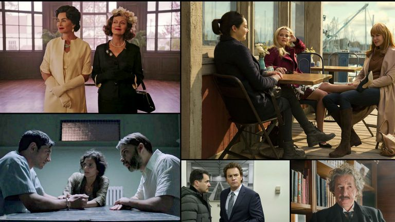 Las miniseries nominadas