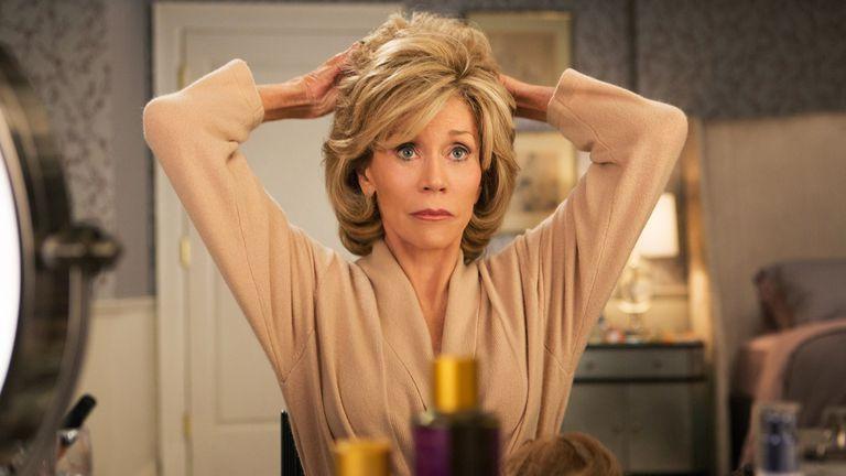 Jane Fonda es Grace Hanson