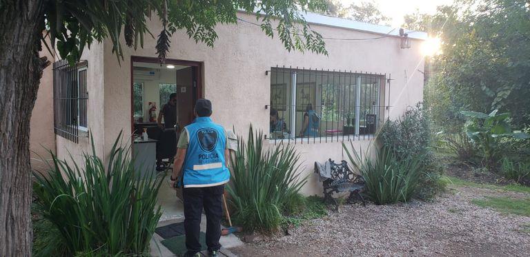 El barra de Vélez fue arrestado en un centro de rehabilitación de adicciones, ubicado en Moreno