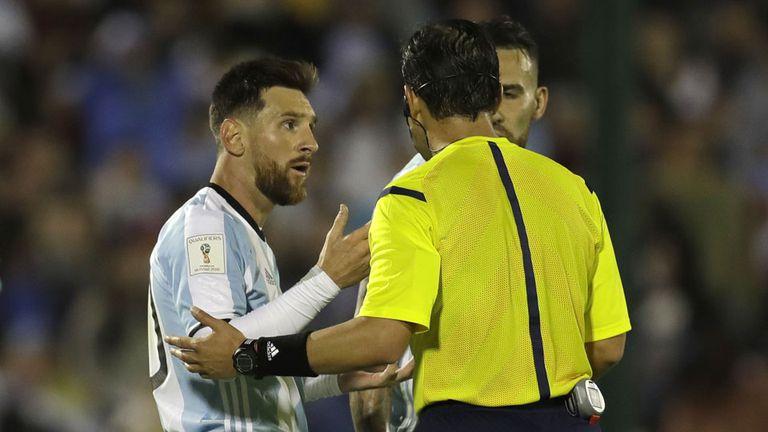 Un árbitro brasile?o dirigirá Argentina-Perú