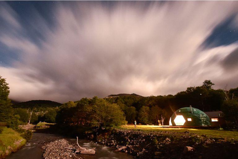 Glamping ecológico entre montañas y arroyos en una estancia cercana a Esquel