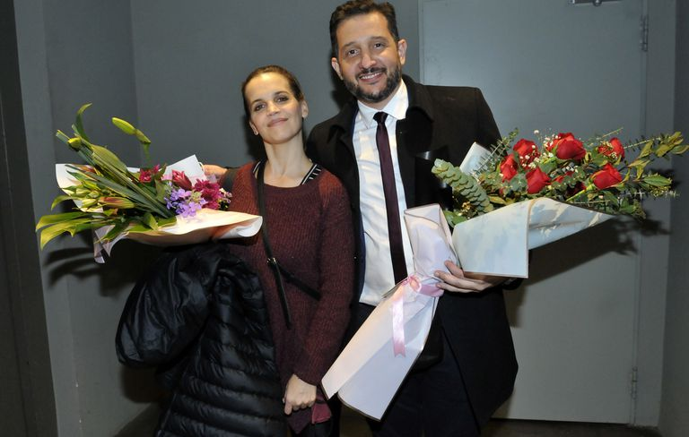En fotos: los famosos disfrutaron de una noche de teatro