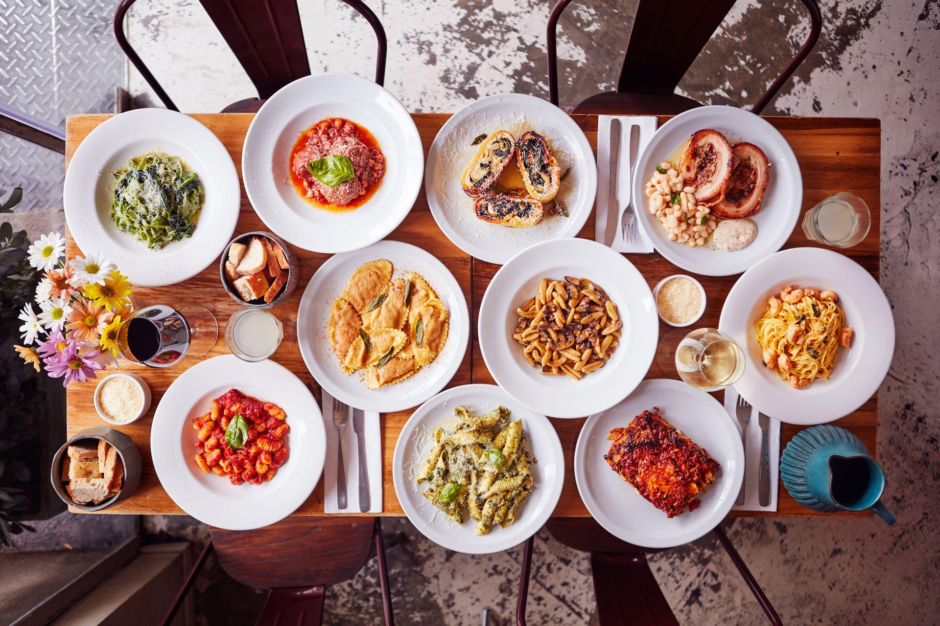 Los platos de La Alacena, en Palermo