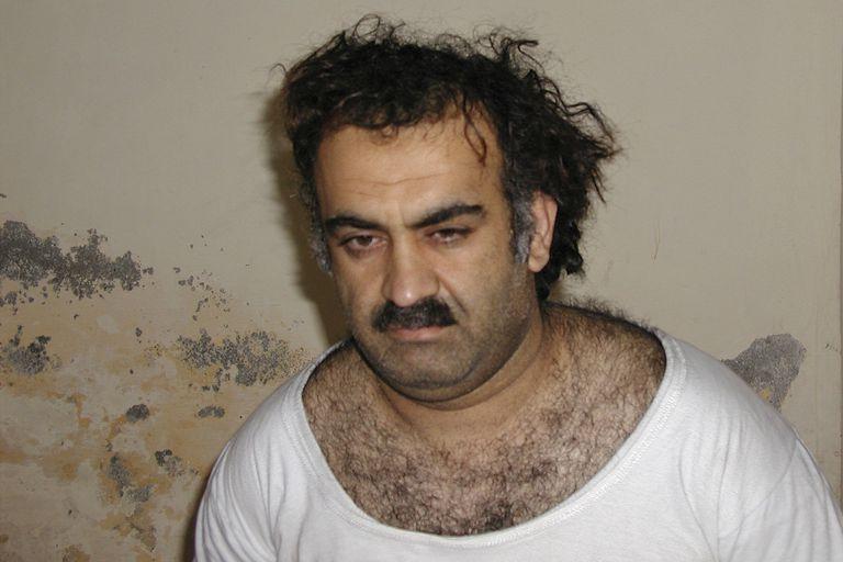 Khalid Sheikh Mohammed, luego de ser capturado en 2003