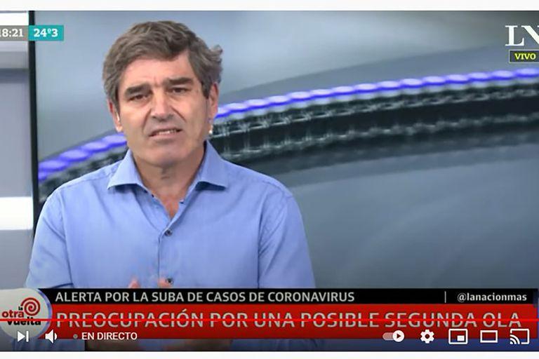 Fernán Quirós se refirió a la suba de casos de coronavirus en la Ciudad