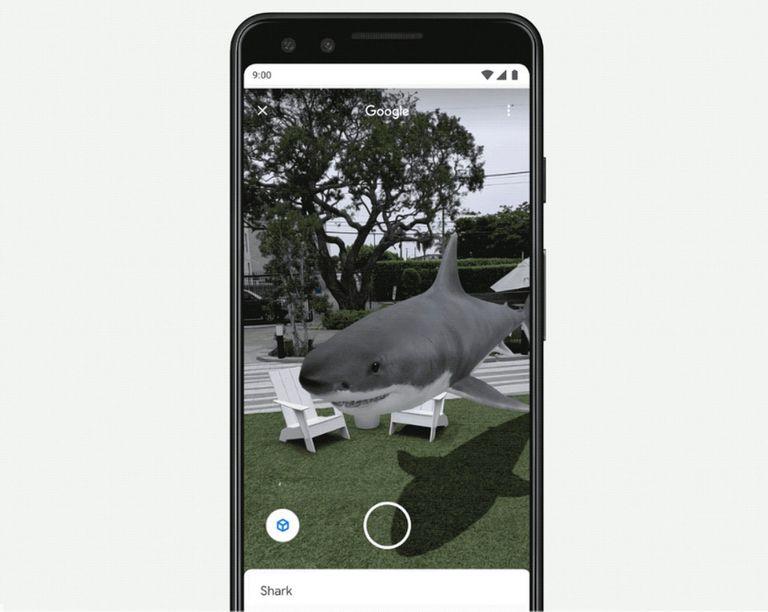 Los resultados de búsqueda en Google comenzarán a ofrecer animaciones 3D que se podrán superponer con realidad aumentada con el entorno mediante el uso de la cámara del smartphone