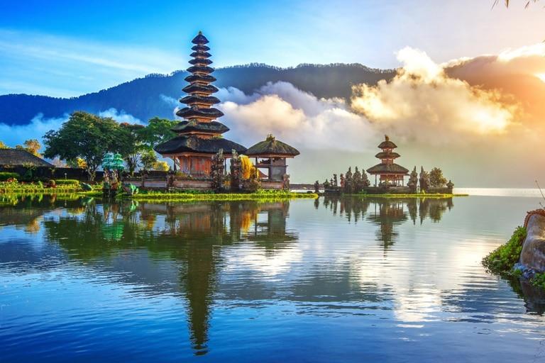 La isla de Bali solo está abierta al turismo de Indonesia debido al Covid-19