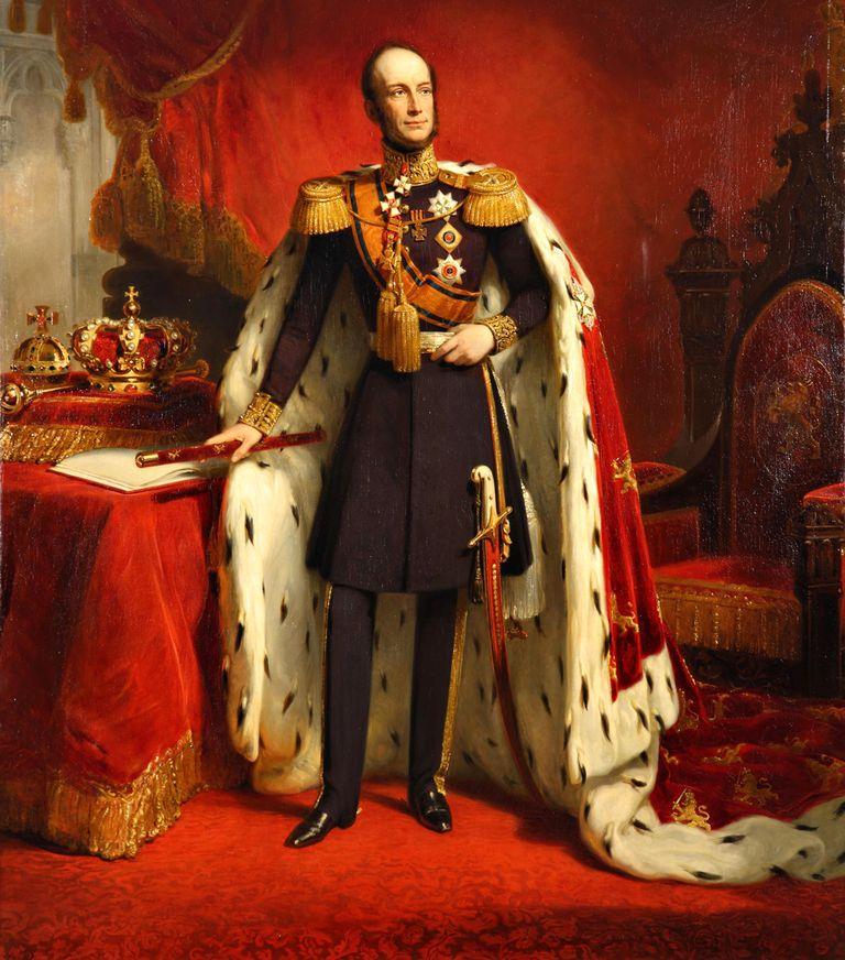 """Antes de asumir la jefatura de Estado, en 1840, fue comandante de las tropas de los Países Bajos durante la batalla contra Napoleón en Waterloo, 1815. Eso le valió a Guillermo II el título de """"rey soldado""""."""