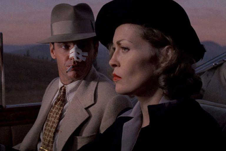 Faye Dunaway, en una escena de Barrio Chino, film en el que chocó permanentemente con su director, Roman Polanski