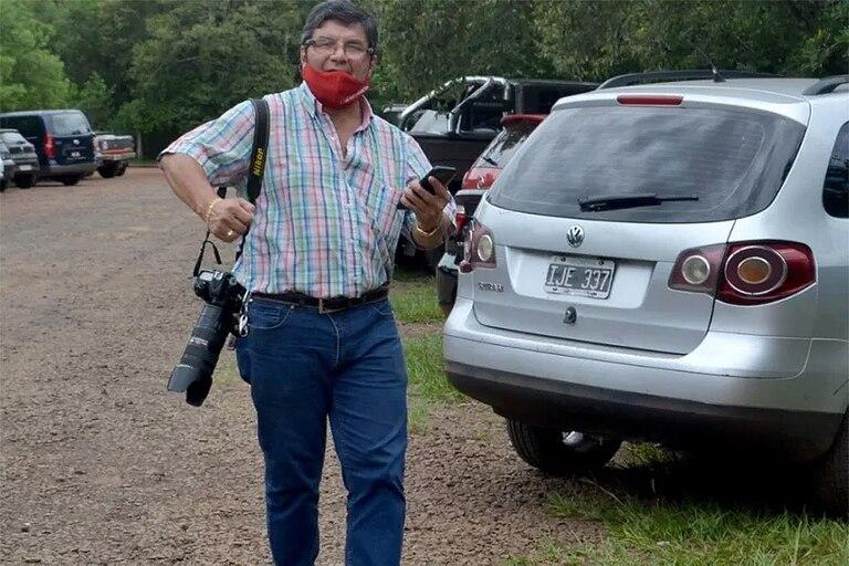 Sixto Fariña, el fotógrafo que protagonizó el incidente