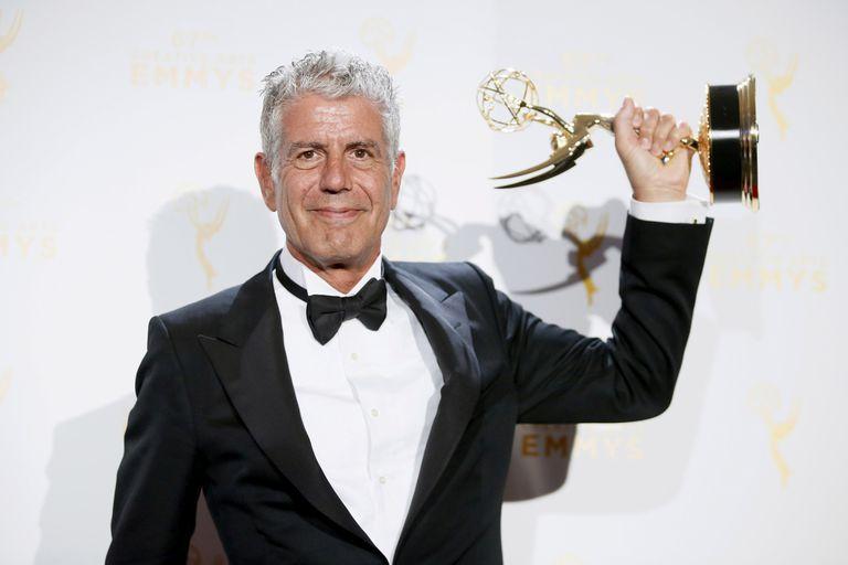 El chef y crítico gastronómico ganó cinco Emmys por sus ciclos televisivos