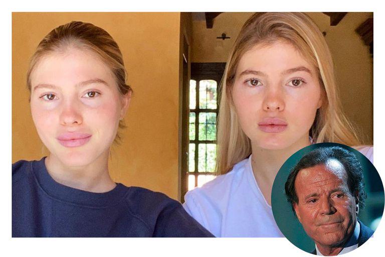 Con 20 años, las gemelas de Julio Iglesias debutan como empresarias