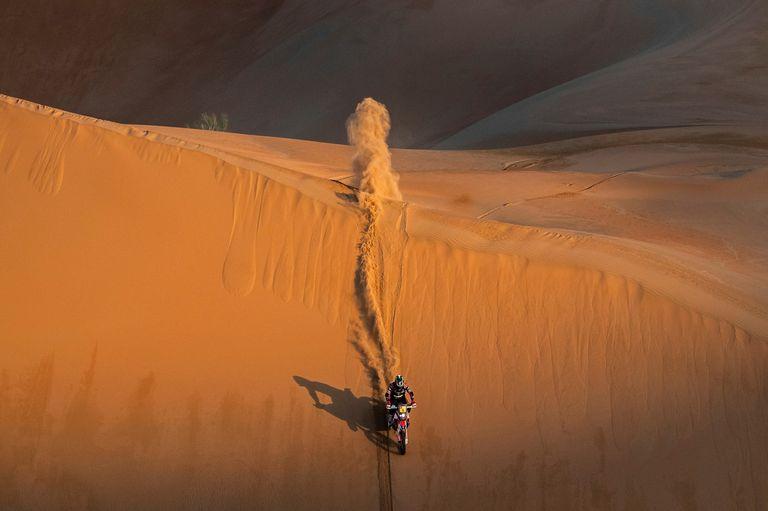 El estadounidense Ricky Brabec se impuso en la categoría motos del Dakar 2019