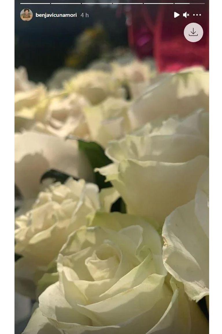 Rosas blanca: el conmovedor detalle de Benjamín Vicuña para homenajear a Blanca