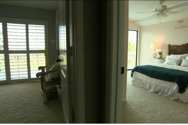 La creación de nuevos dormitorios para las niñas de la familia. Imagen: Discovery